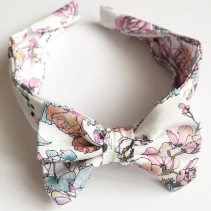 Soft White Floral